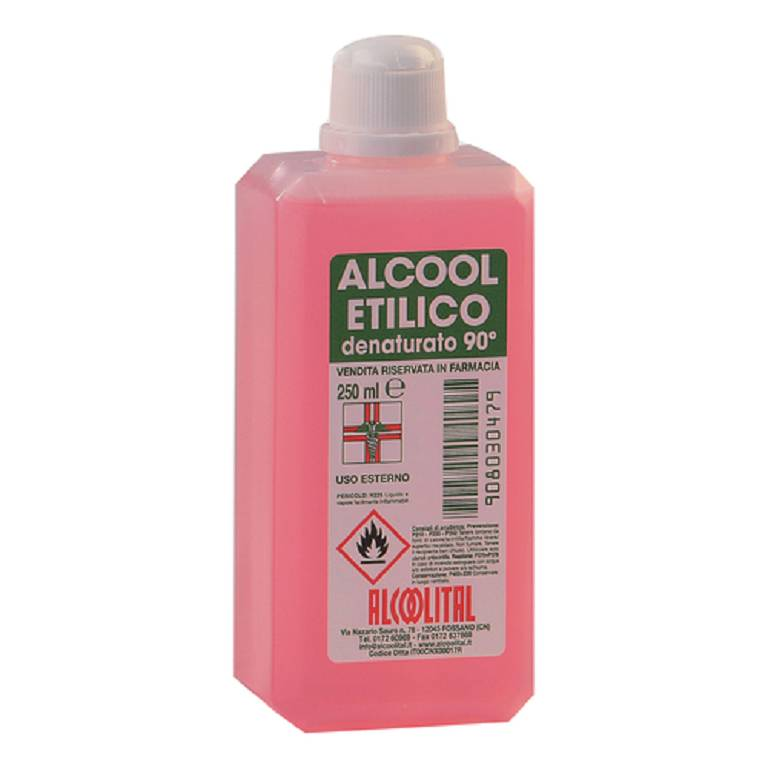 ALCOOL Denataturato 250 ml