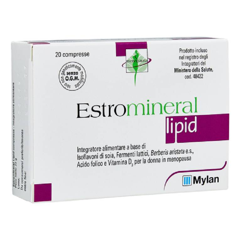 ESTROMINERAL LIPID 20CPR