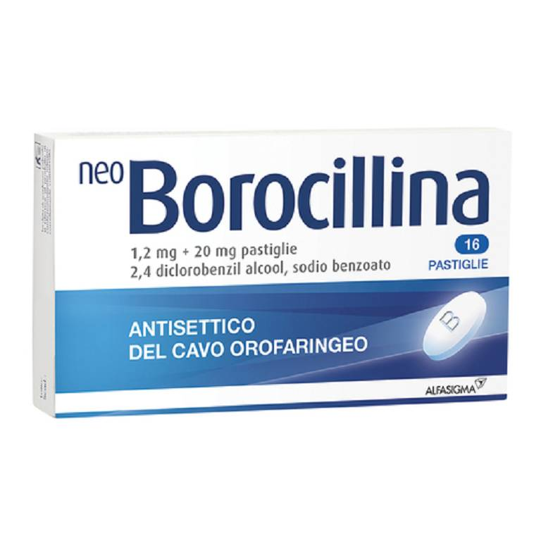 NEOBOROCILLINA*16PAST 1,2+20MG