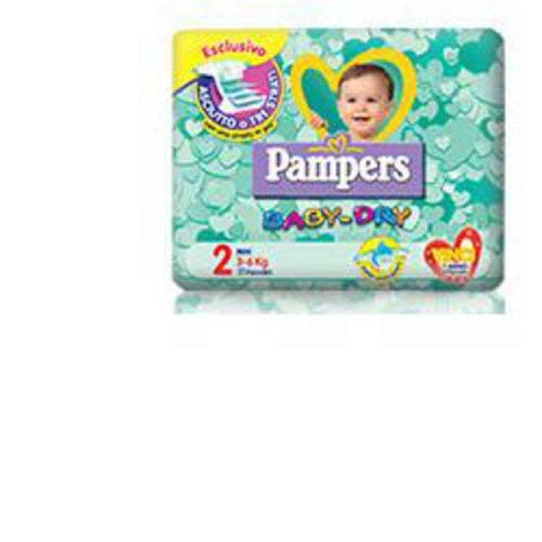 PAMPERS BABY DRY DOWNC MINI25P