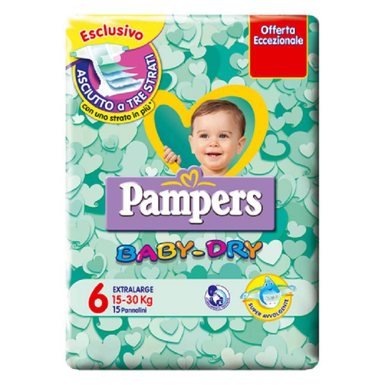 PAMPERS BD DOWNCOUNT EXTR 15PZ
