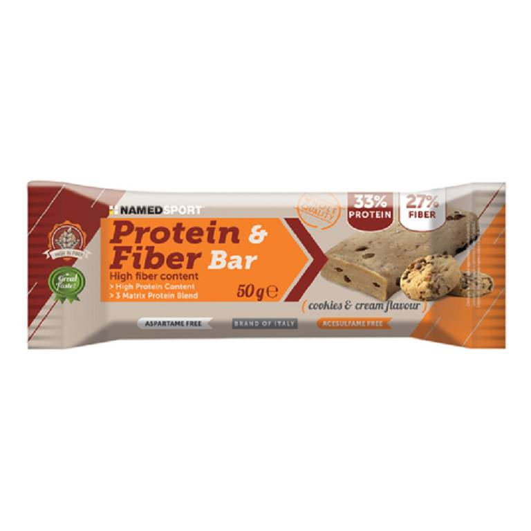 PROTEIN&FIBER BAR COOK&CR 50G