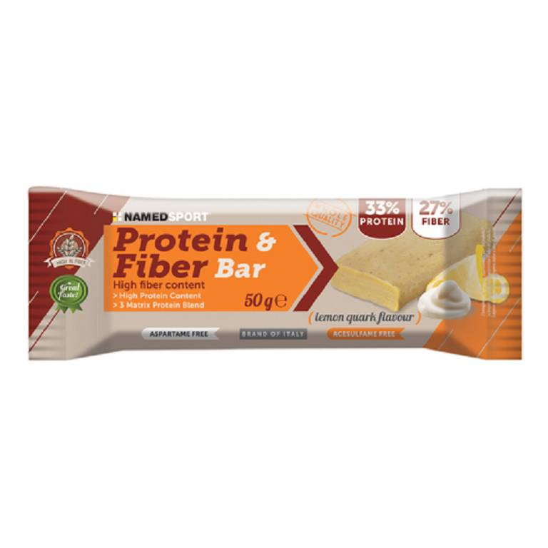 PROTEIN&FIBER BAR LEMON QU 50G